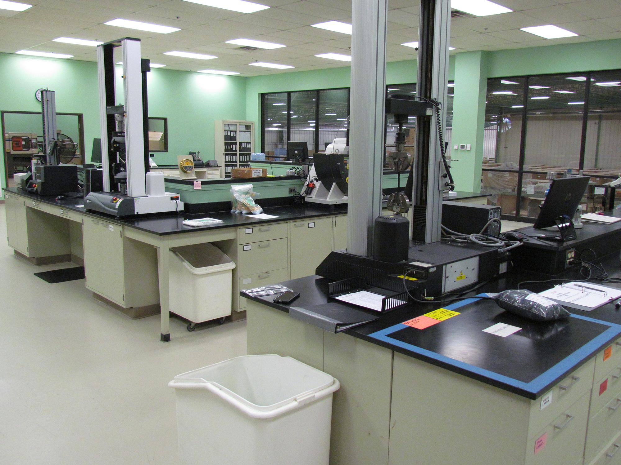 Dynamic Polymer Solutions testing laboratory